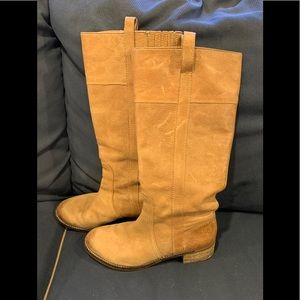 Lucky Brand genuine leather high boots
